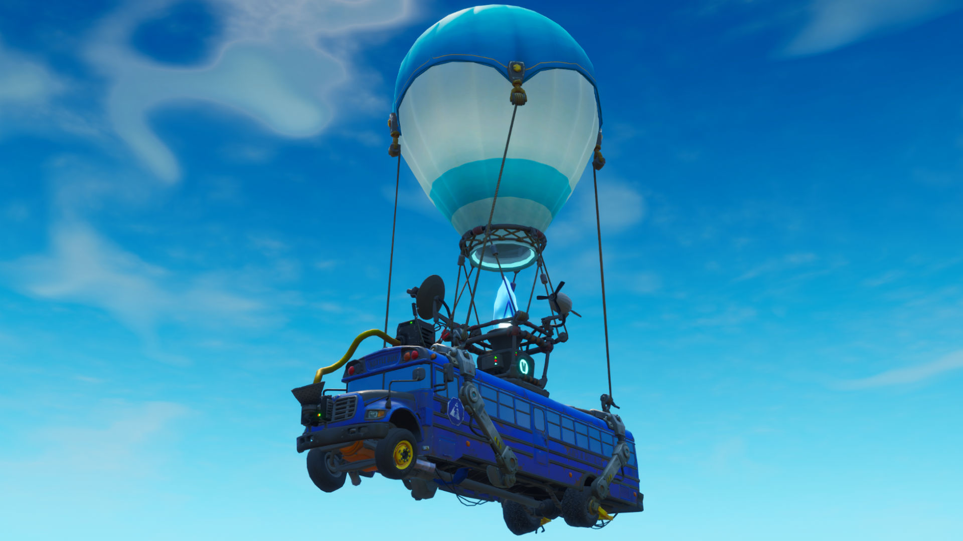 Come saltare dal Vinder Bus in Fortnite