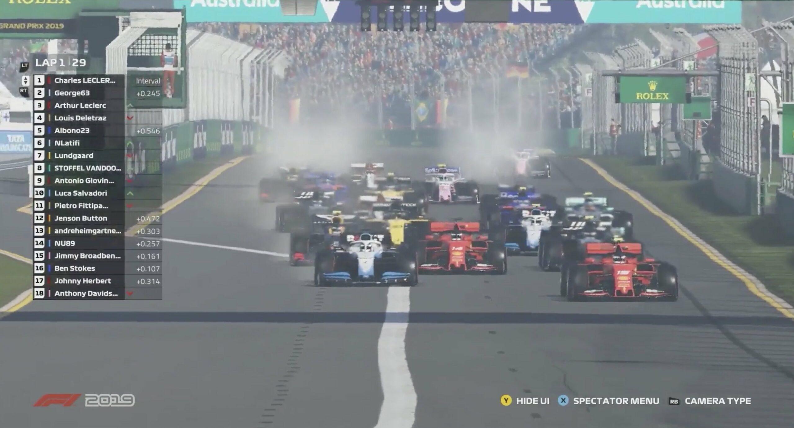 Ecco perché la F1 virtuale è meglio di quella vera