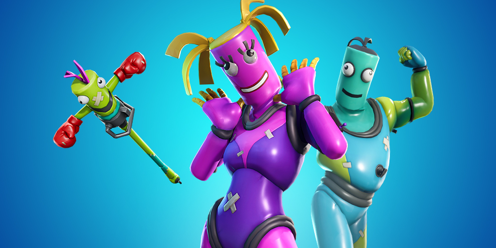 Fortnite Skins Bendie Twistie